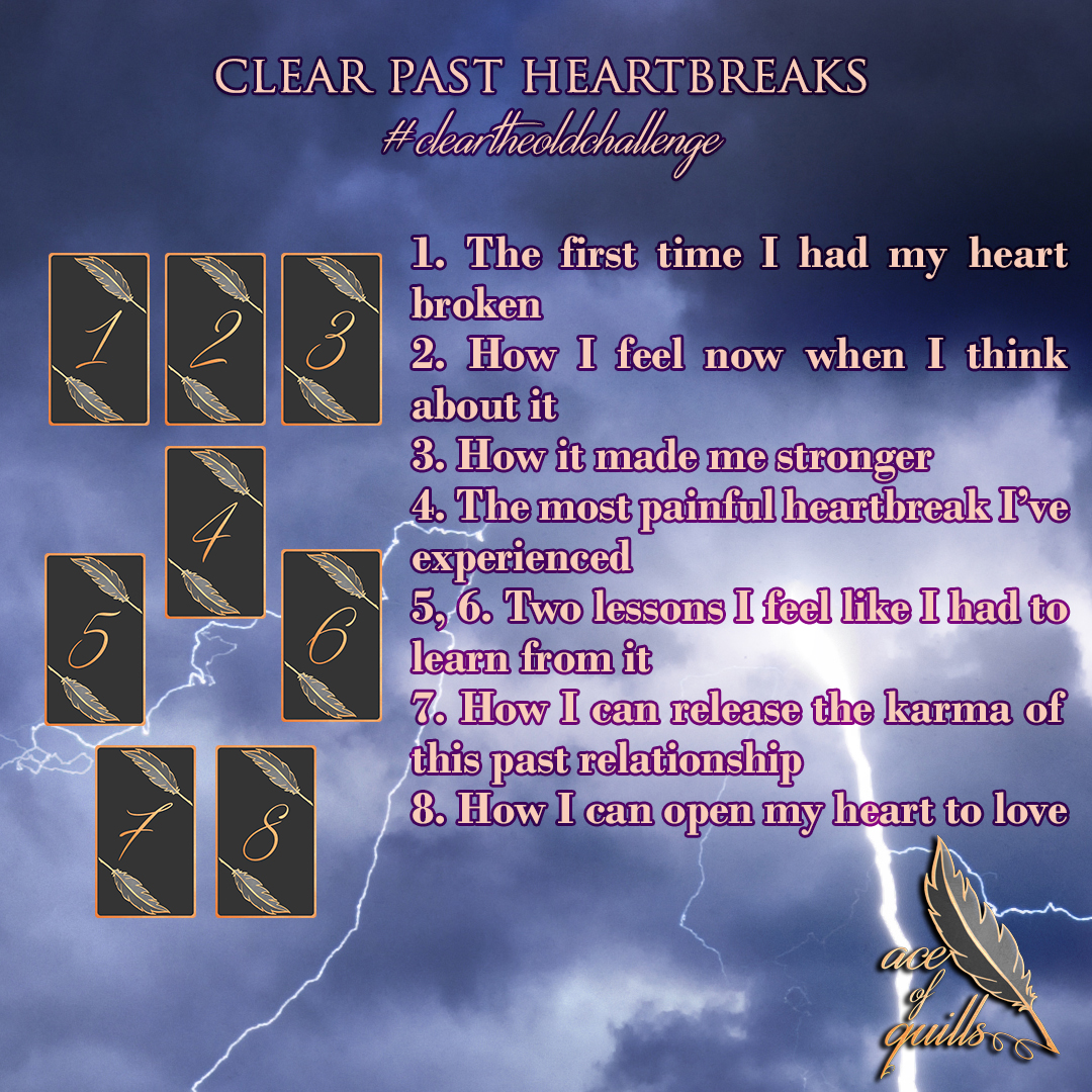 Day 27 – Clear Past Heartbreaks – aceofquills